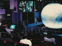 """Earth Station One"" Interactive Science Education Classroom Theater."