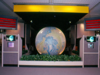 "Entrance to ""Earth Station One"" Interactive Science Education Classroom Theater."