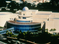 Architect's Rendering of the New Orlando Science Center.