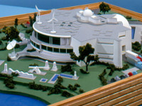 Very Early Conceptual Model of the New Orlando Science Center.